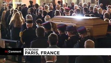 L'hommage de la France à son professeur assassiné