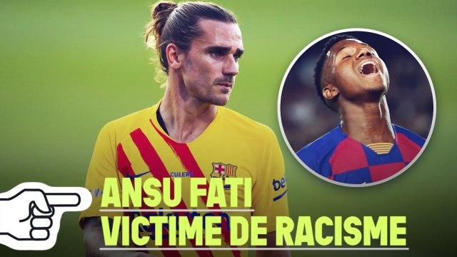 La réaction PARFAITE d'Antoine Griezmann après qu'Ansu Fati a été victime de racisme | Oh My Goal