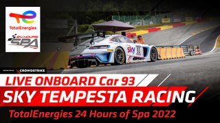 LIVE - Paul Ricard 2020 - ONBOARD WITH - SKY - Tempesta Racing Ferrari. CAR 93
