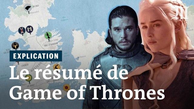 Game of Thrones - le résumé de la série saison par saison