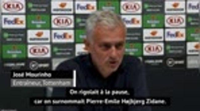 1e j. - Mourinho chambre Hojbjerg en le comparant à Zidane