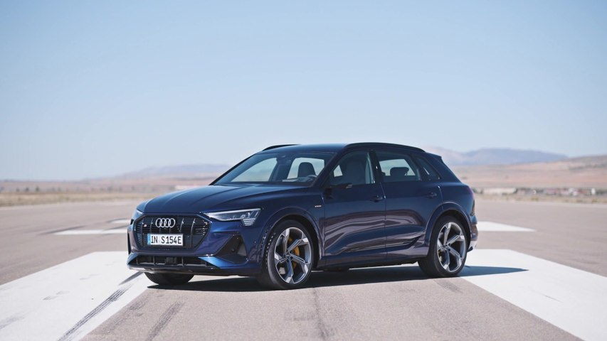 The new Audi e-tron S Exterior Design