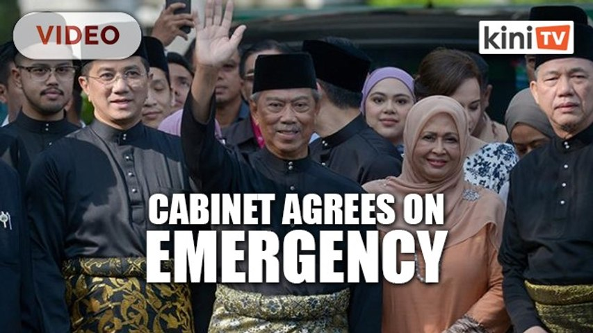 PM to seek royal consent after cabinet agrees on emergency