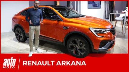Renault Arkana : premier contact avec le SUV coupé