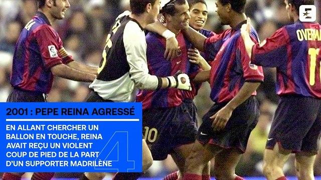 Figo et la tête de cochon, le coup de sang de Zidane... Le top des Clasicos les plus chauds