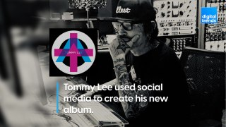 How rocker Tommy Lee used social media to create his new album