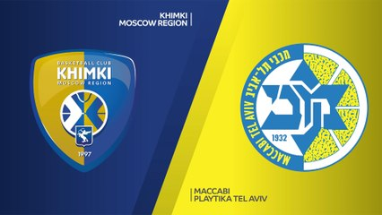 EuroLeague 2020-21 Highlights Regular Season Round 5 video: Khimki 87-89 Maccabi