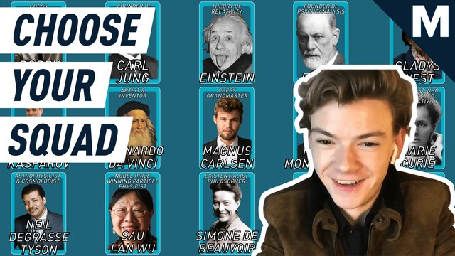 Thomas Brodie-Sangster from Netflix's 'The Queen's Gambit' chooses his ultimate chess genius squad