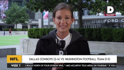 Dallas Cowboys (2-4) vs Washington Football Team (1-5)