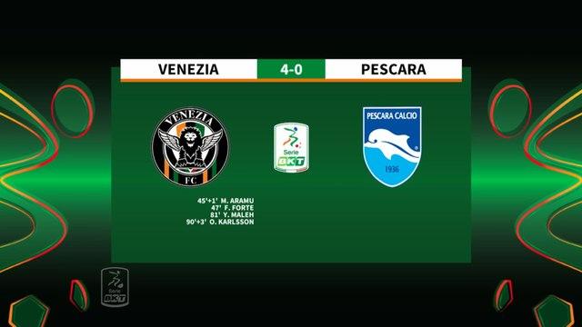 HIGHLIGHTS #VeneziaPescara 4-0