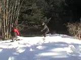 adri en skate des neiges!!!!