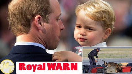 Royal WARN: William is forced to take George away from palace immediately