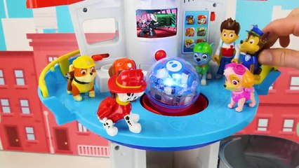 Paw Patrol Fun Learning Video for Kids - Mighty Pups vs Battle Robot