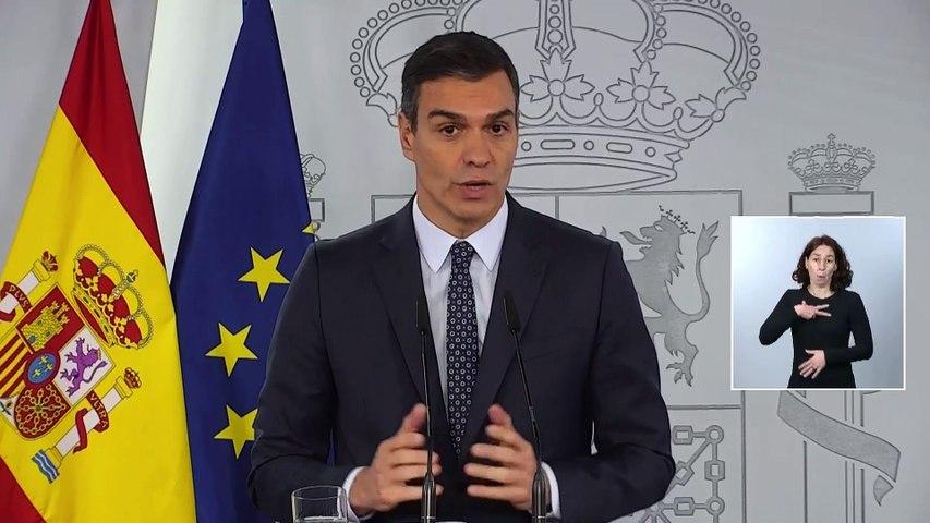 El Gobierno decreta el estado de alarma para toda España que entrará en vigor esta tarde