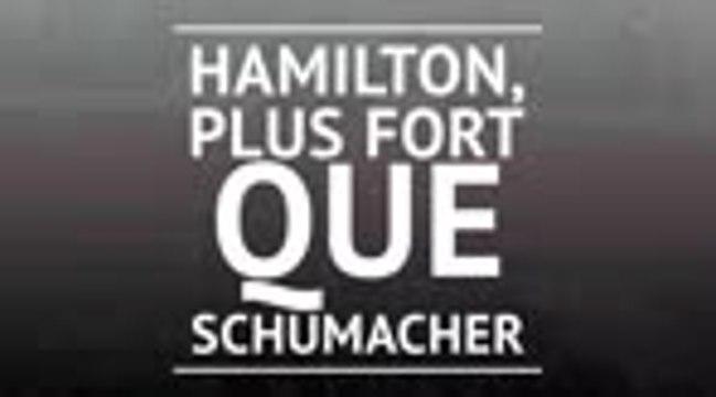 GP du Portugal - Hamilton dépasse Schumacher
