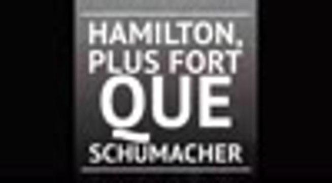 Hamilton dépasse Schumacher