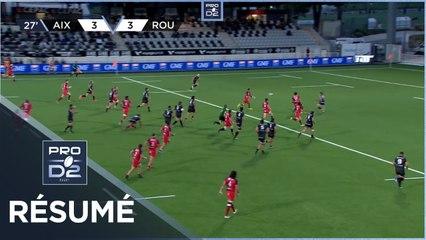 PRO D2 - Résumé Provence Rugby-Rouen Normandie Rugby: 22-22 - J7- Saison 2020/2021
