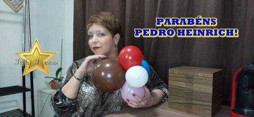 FELIZ ANIVERSÁRIO PEDRO HEINRICH!