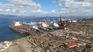 تركيا: تفكيك السفن البحرية نتيجة انتشار الكورونا!!!