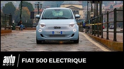Essai Fiat 500 électrique : du jus dans le yaourt