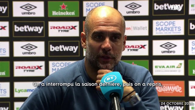 Man City : Avant l'OM, Guardiola peste contre le calendrier