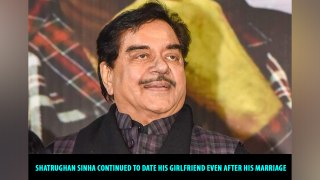 Shatrughan Sinha continued to date his girlfriend even after his marriage