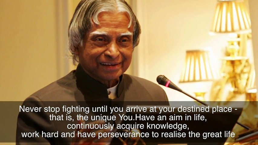 Popular Quotes By APJ Abdul Kalam | Silly Monks