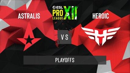 CSGO - Astralis vs. Heroic [Nuke] Map 2 - ESL Pro League Season 12 - Playoffs - EU