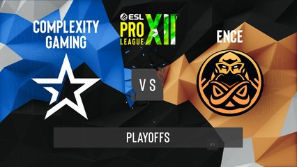 CSGO - Complexity vs. ENCE [Mirage] Map 2 - ESL Pro League Season 12 - Playoffs - EU