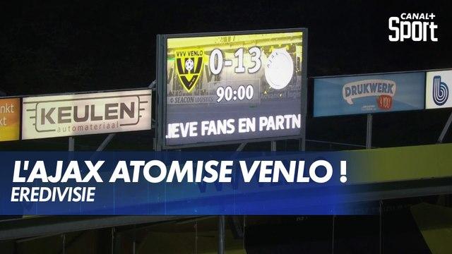 L'Ajax Amsterdam atomise Venlo 13-0 !