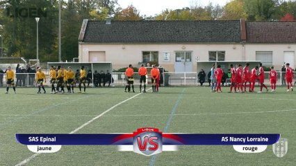 Nat U17 gr.B : Epinal – Nancy (1-2)