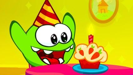 Om Nom Stories: Super-Noms - Happy Birthday! - Funny cartoons for kids