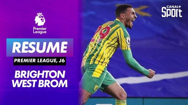 Les buts de Brighton / West Bromwich
