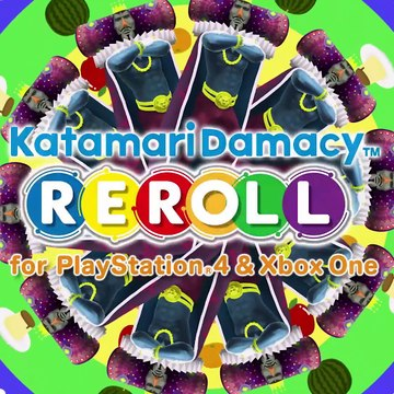 Katamari Damacy Reroll - PS4 And Xbox One Launch Date Trailer