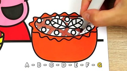 Peek a Boo Song Nursery Rhymes song for Kids _ Peppa Pig Coloring Pages