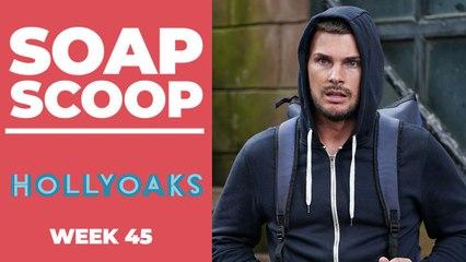 Hollyoaks Soap Scoop! Ste Hay returns