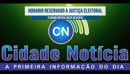 Veja e reveja o programa Cidade Notícia desta terça-feira (27) pela Líder FM de Sousa-PB