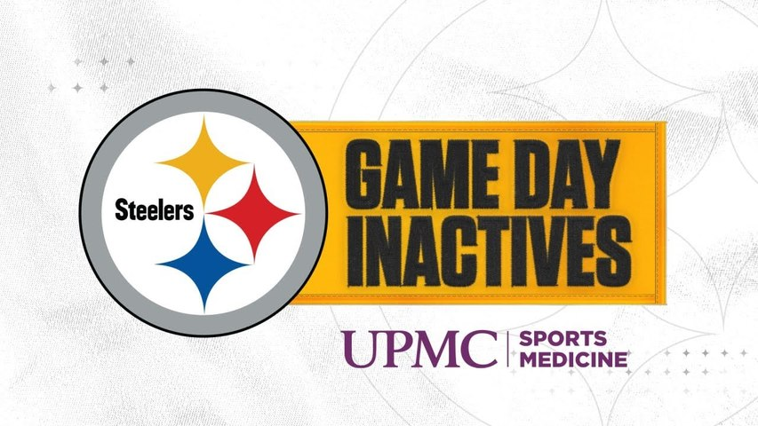 Steelers Inactives for Week 7 vs Titans