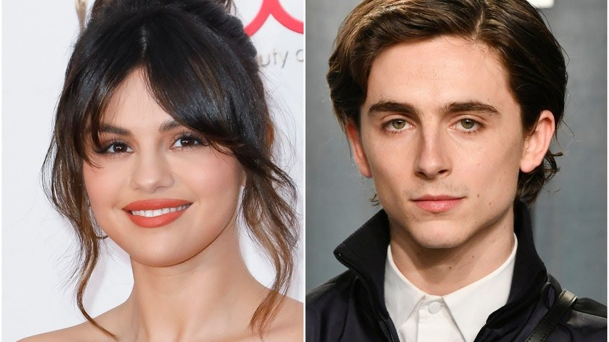 Timothée Chalamet Couldn't Stop Gushing Over Selena Gomez During Their