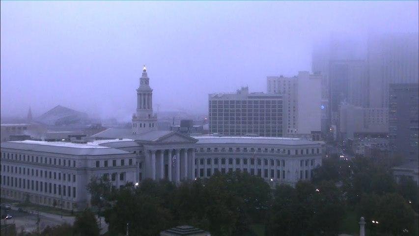 Colorado Weather Cold Front Plows Into Denver Unfortunately It Misses