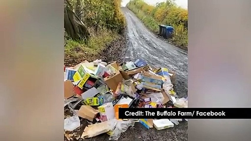 Angry Fife farmer vows to catch flytippers and 'dump buffalo dung in their shop