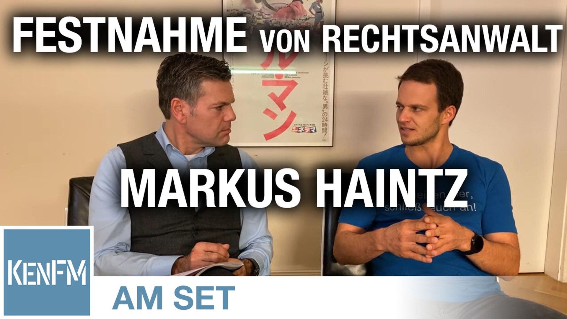 Rechtsanwalt Markus Haintz von Querdenken711 zu seiner Festnahme in Berlin - KenFM am Set