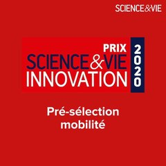 Prix Science&Vie #Innovation 2020 - Pré-sélection mobilité : un trois-roues pour circuler en toute sécurité