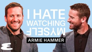 Armie Hammer | I Hate Watching Myself