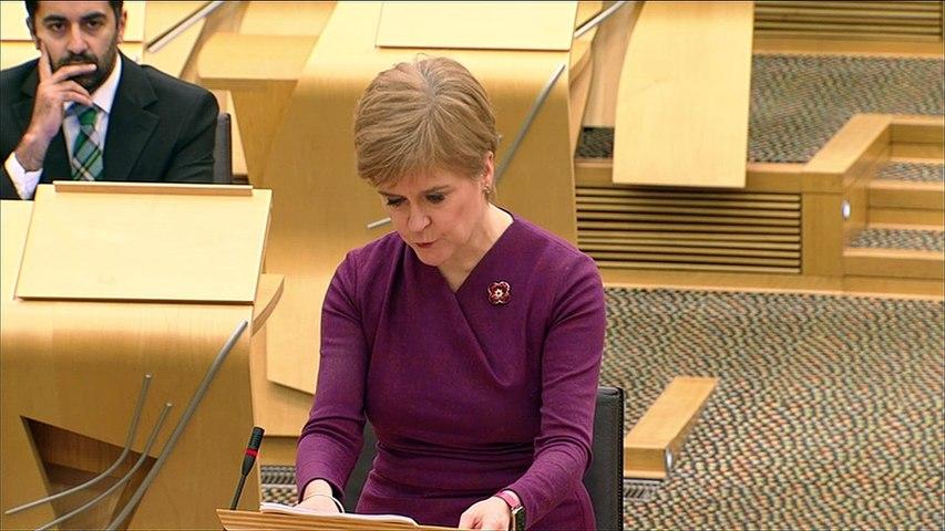 Sturgeon announces postcode checker for Covid restrictions