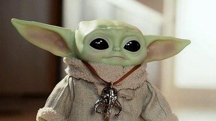 Quand Baby Yoda bouge sa tête