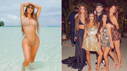 Leave It to Kim Kardashian to Rent a Private Island for Her 40th Birthday
