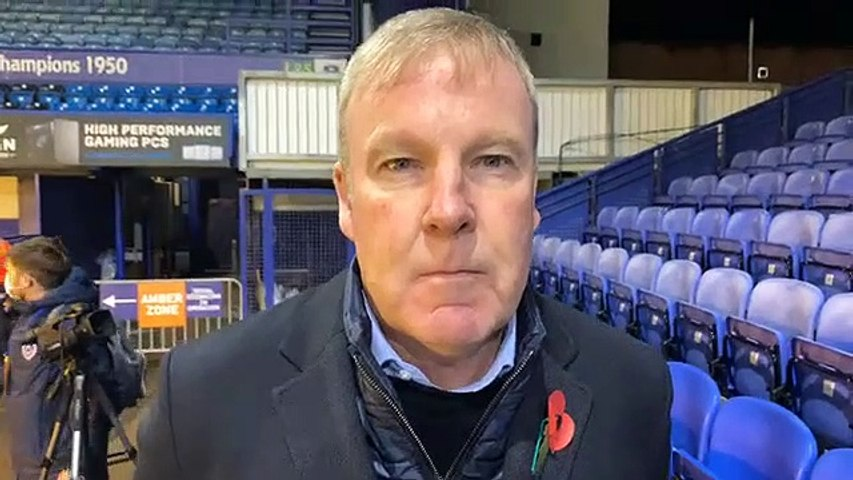 Kenny Jackett speaks after Pompey's 4-0 win over Northampton