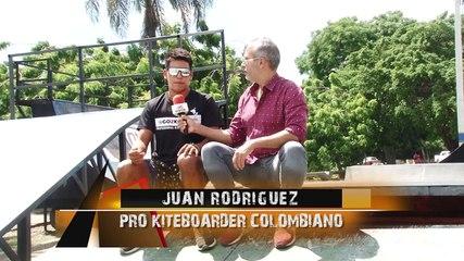 ¡El kiteboarding colombiano Juan Rodriguez se encuentra en República Dominicana!