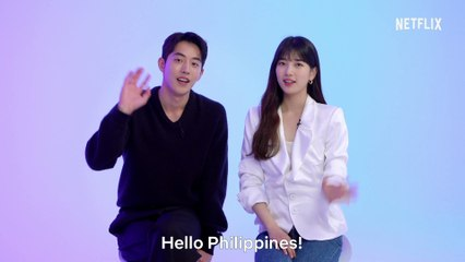 Suzy Bae and Nam Joo-hyuk invite Filipino fans to watch K-Drama 'Start-Up' on Netflix | ClickTheCity